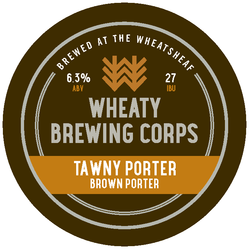 Tawny Porter Decal