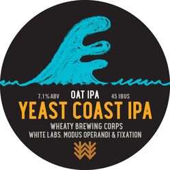 Yeast Coast IPA Decal