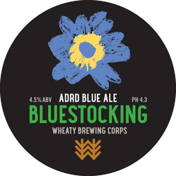 Bluestocking Decal