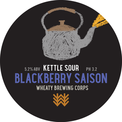 Blackberry Saison Decal