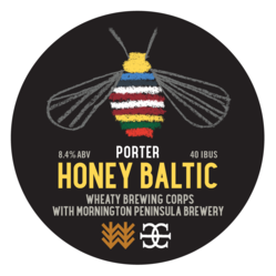 Honey Baltic Porter Decal