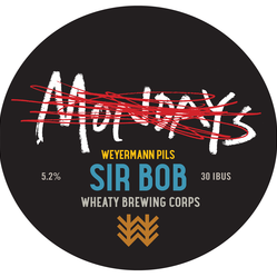 Sir Bob (Gelbhopf) - Weyermann Decal