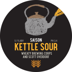 Kettle Sour Saison Decal