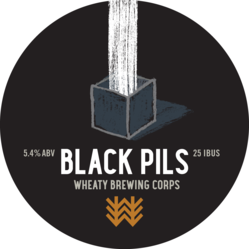 Black Pils Decal