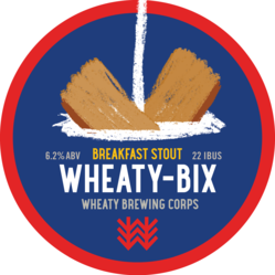 Wheaty-Bix Decal