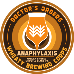 Anaphylaxis Decal