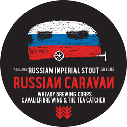 Russian Caravan Decal