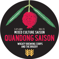 Quandong Saison Decal